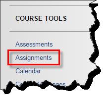 course menu screenshot