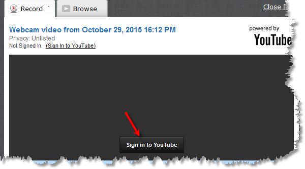 record tab screen shot
