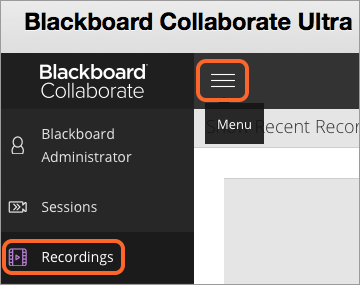 Blackboard Collaborate ultra screen shot
