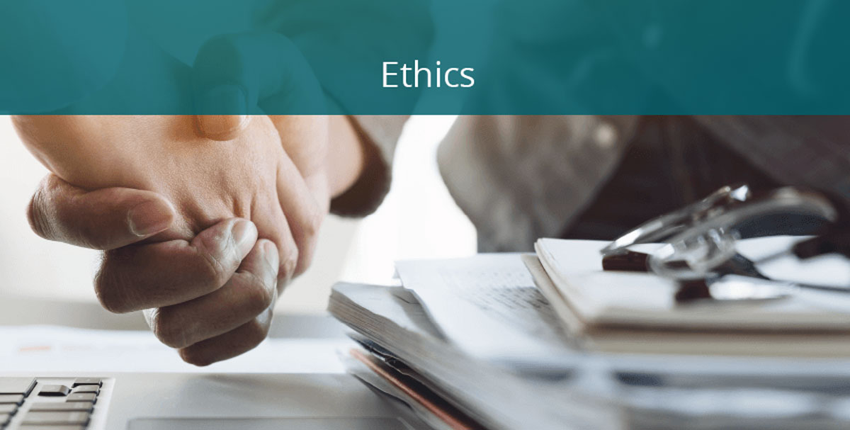 ethics banner