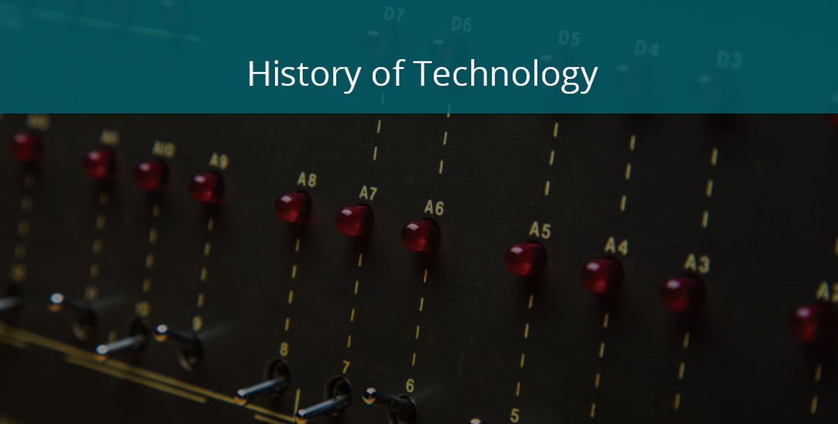 history of technology banner